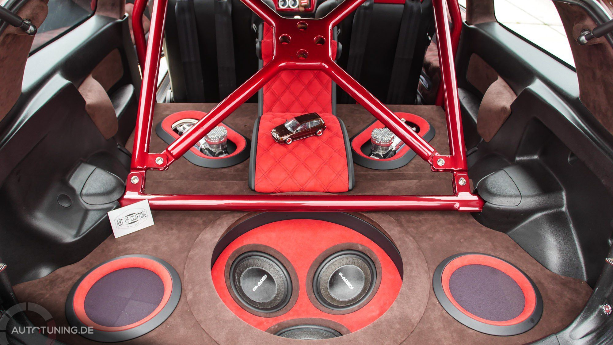 Passender Kofferraumausbau im Honda Civic