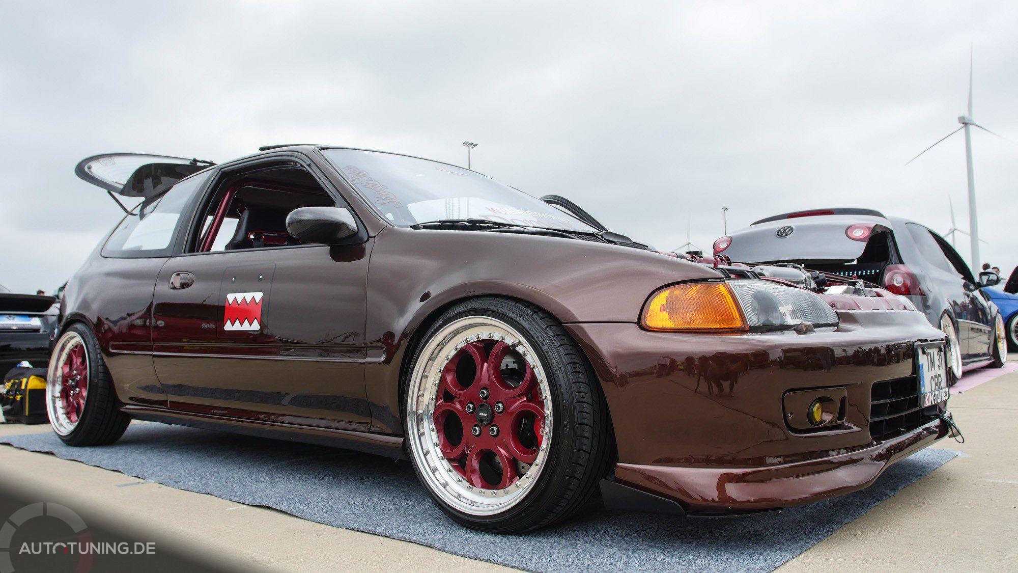 Seitenansicht des Honda Civic