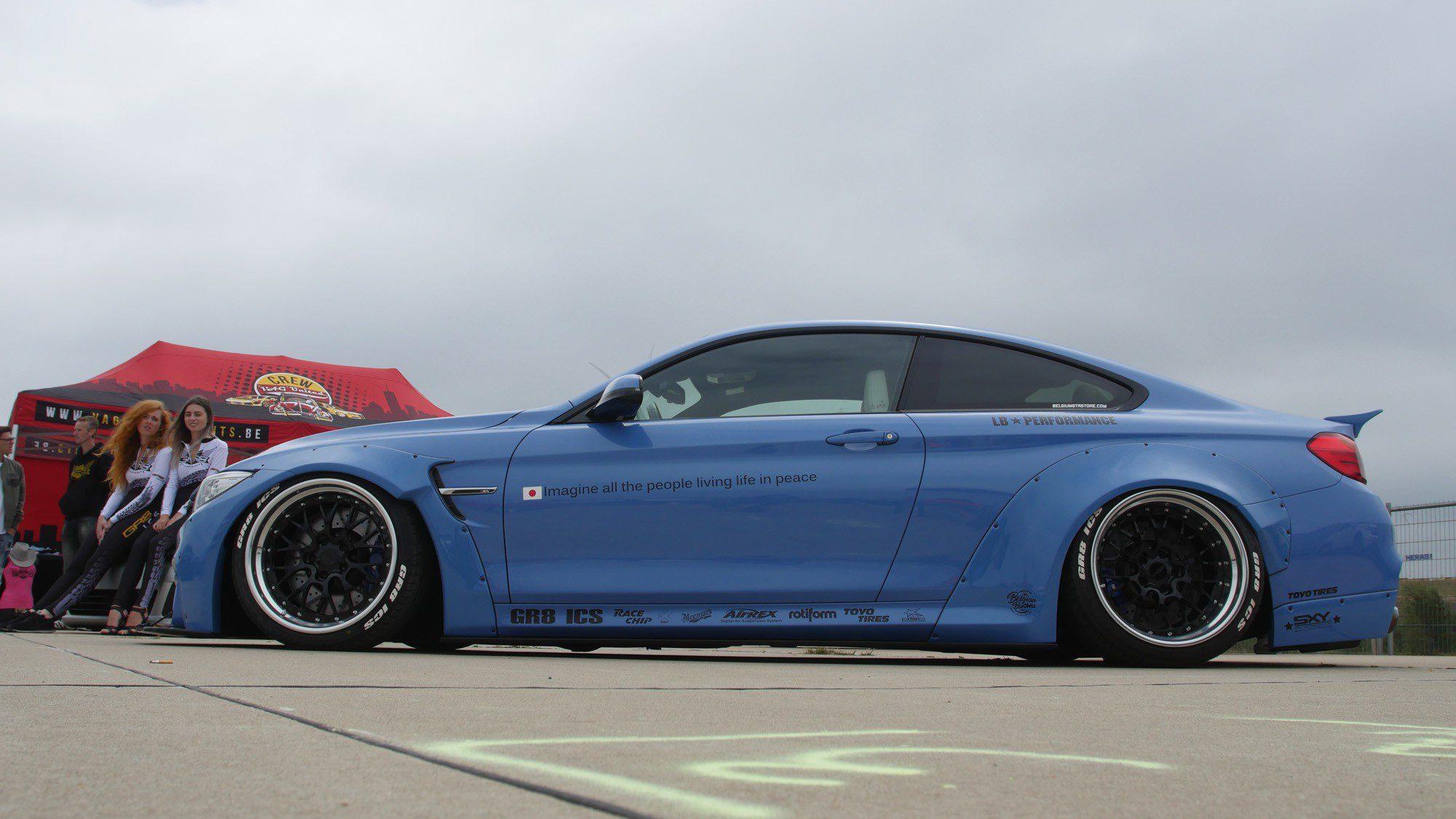 Seitenansicht des BMW M4