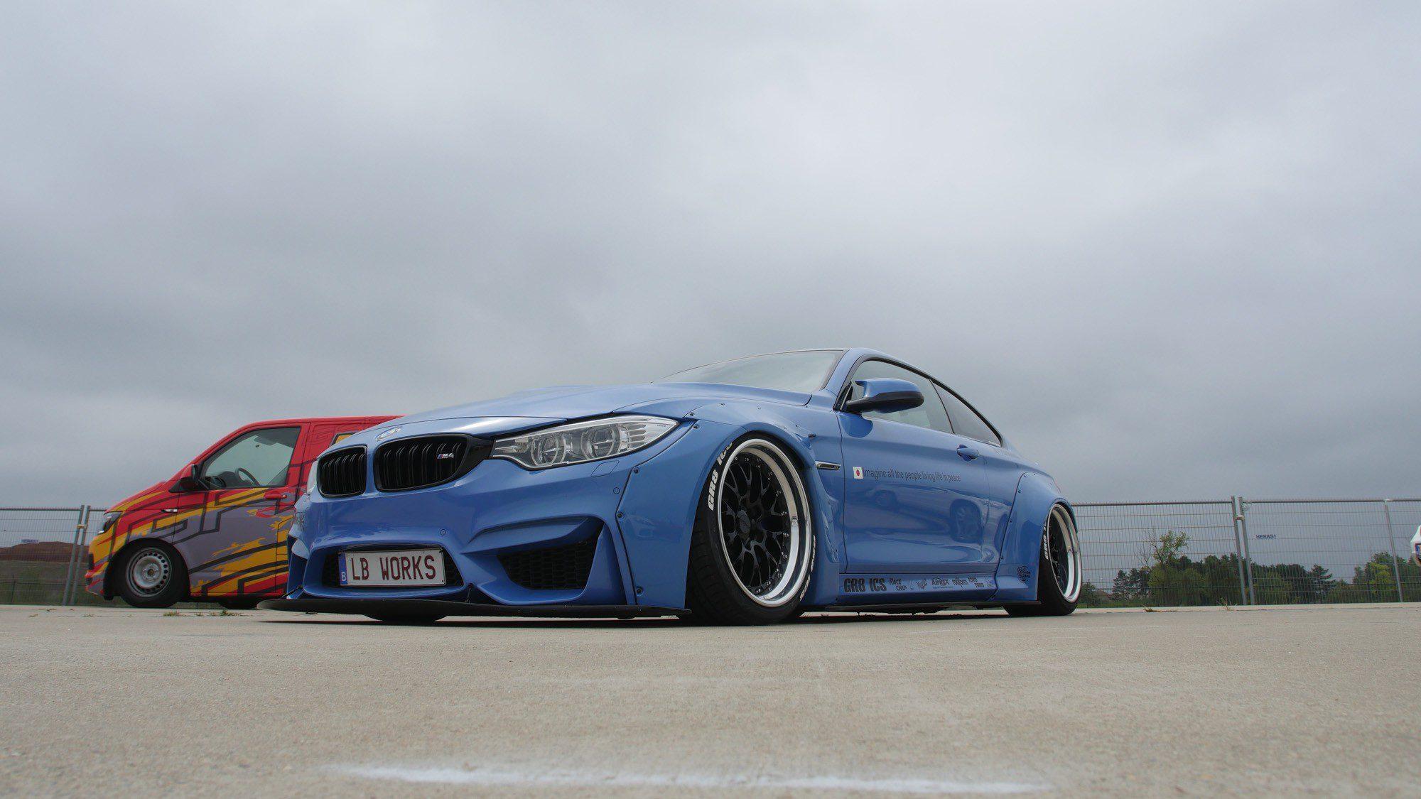 Frontansicht des BMW M4