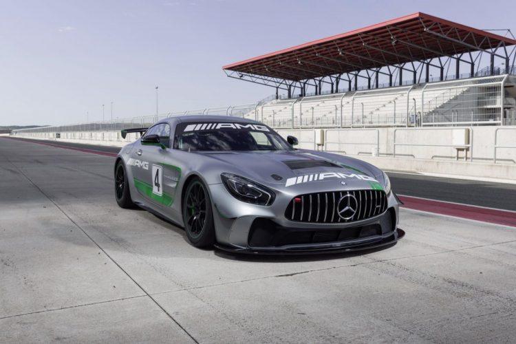 Frontansicht des Mercedes-AMG GT4