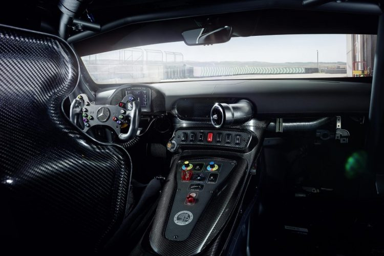 Innenraum des Mercedes-AMG GT4