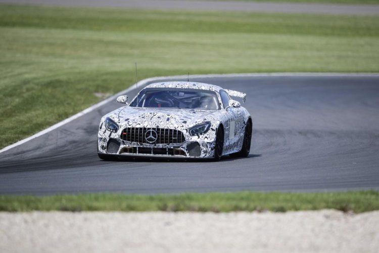 Prototyp des Mercedes-AMG GT4