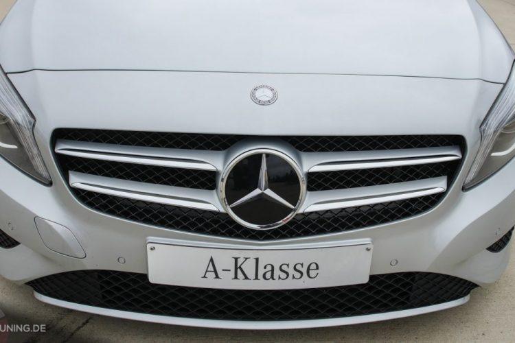 Frontansicht der Mercedes A-Klasse