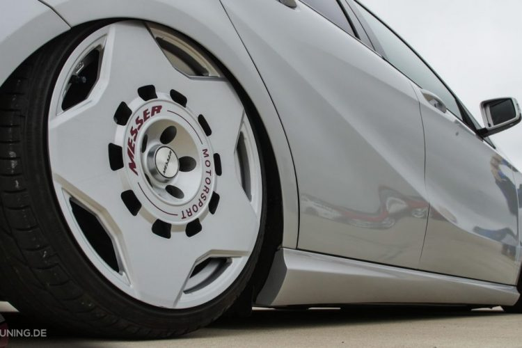 Messer Wheels auf der Mercedes A-Klasse