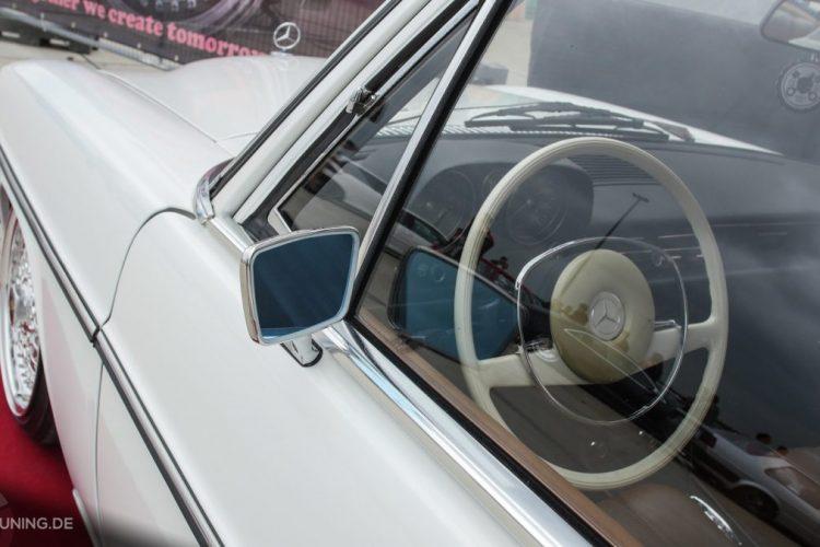 Detailansicht des Mercedes-Benz W 115