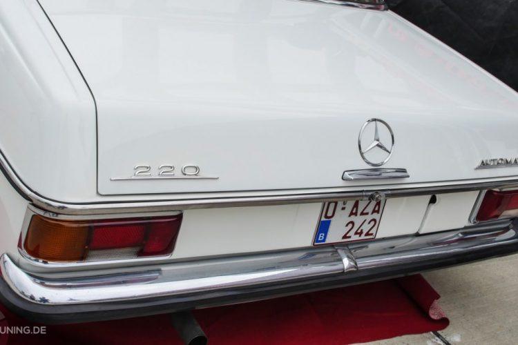 Heck des Mercedes-Benz W 115