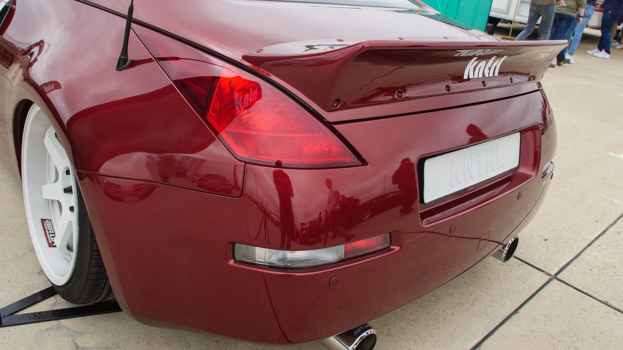 Heck des Nissan 350 Z