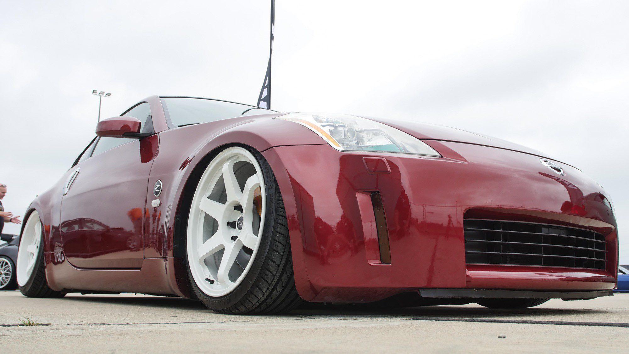 Frontpartie des Nissan 350 Z
