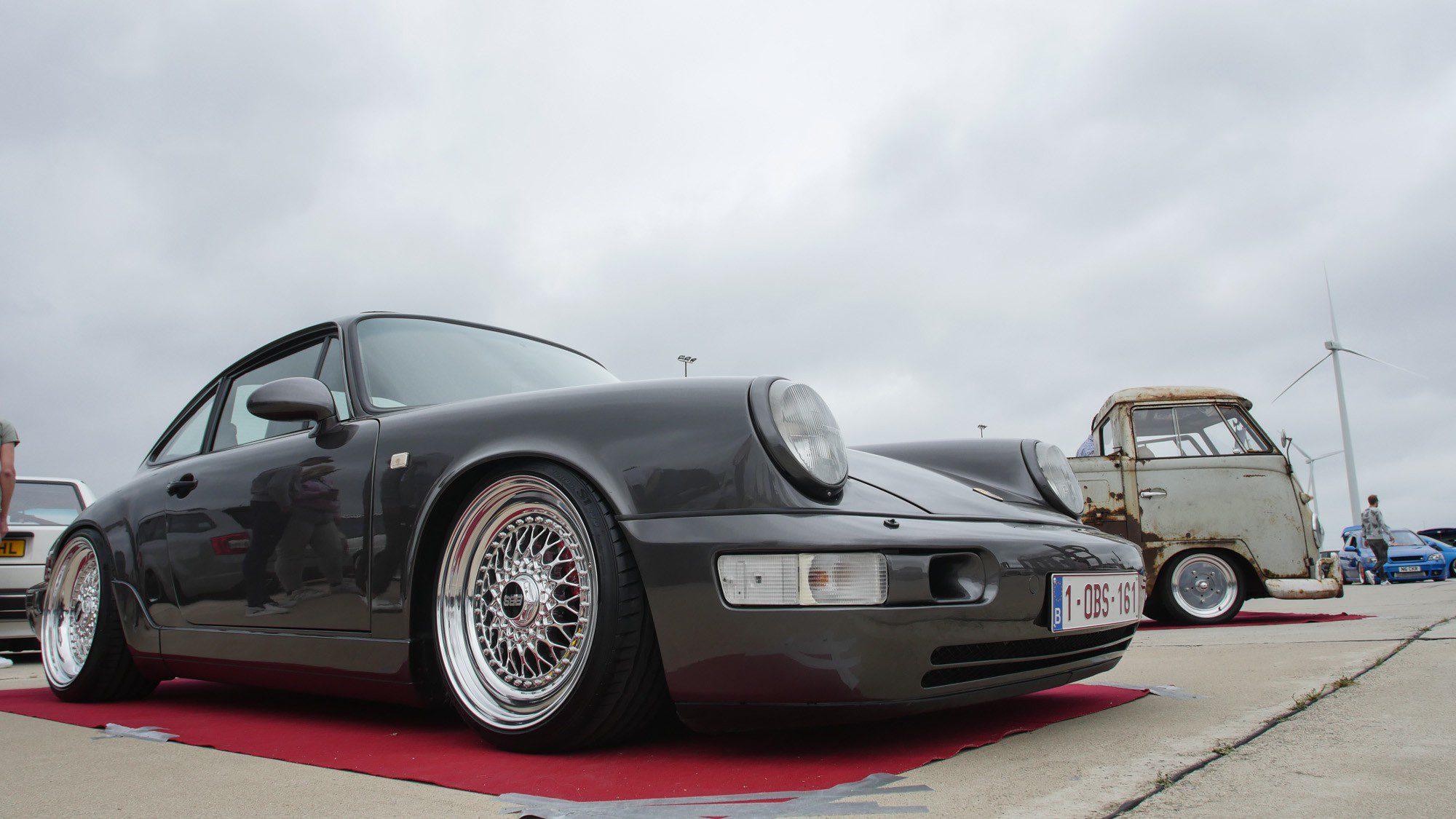 Frontansicht des Porsche 964