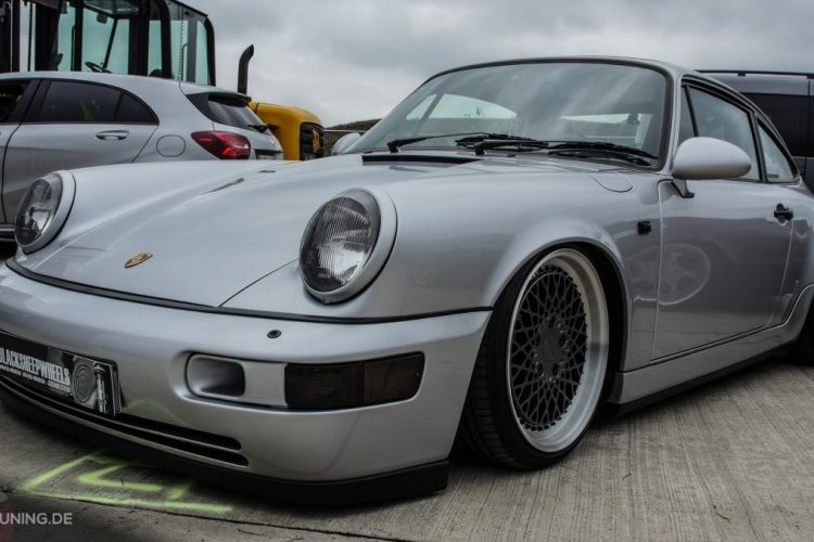 Frontansicht des Porsche 911