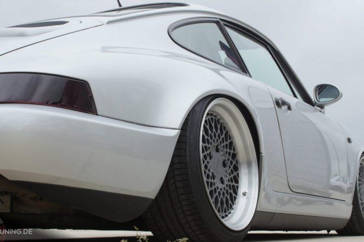 Schicke Rotiform-Räder auf dem Porsche 911