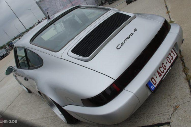 Heck des Porsche 911