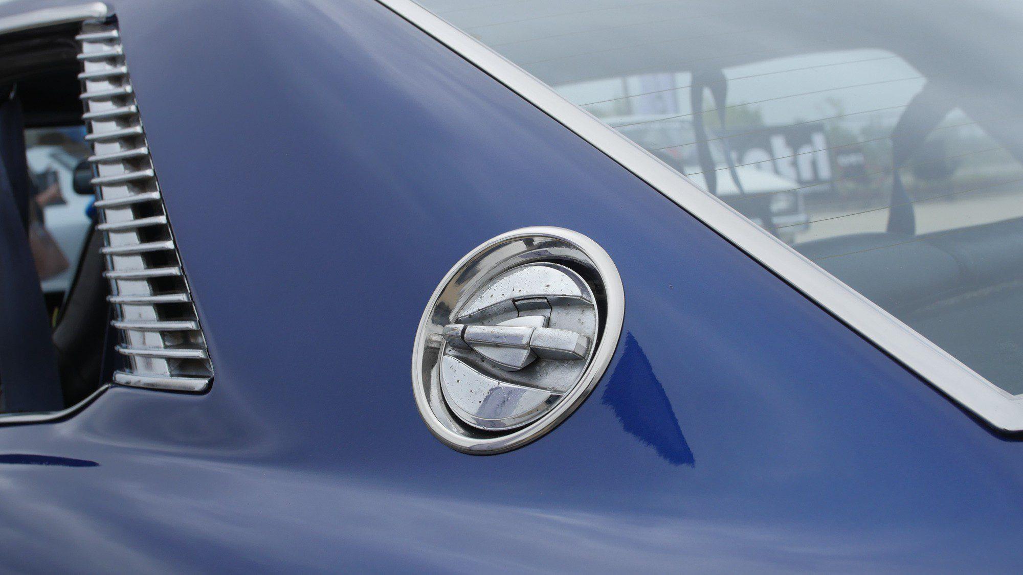 Details an der C-Säule der Toyota Celica