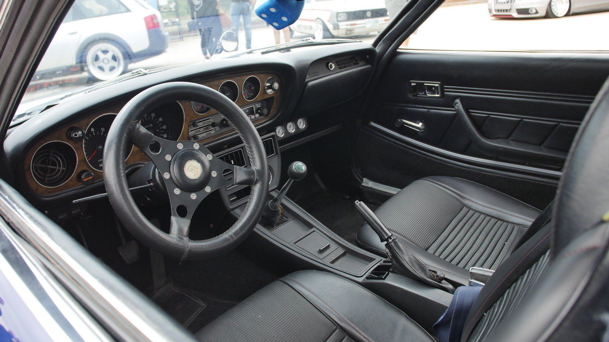 Innenraum des Toyota Celica