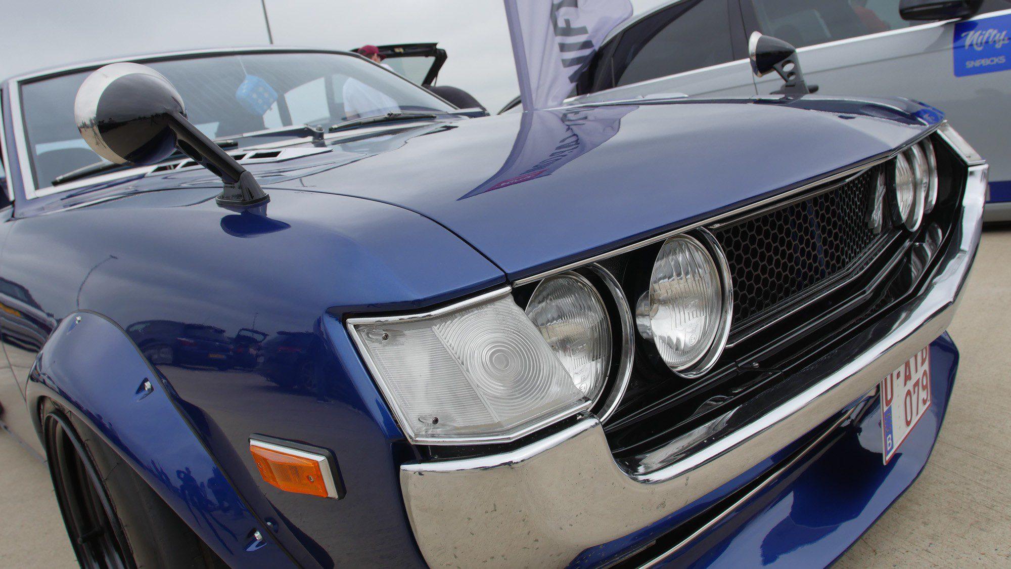 Frontdetails der Toyota Celica