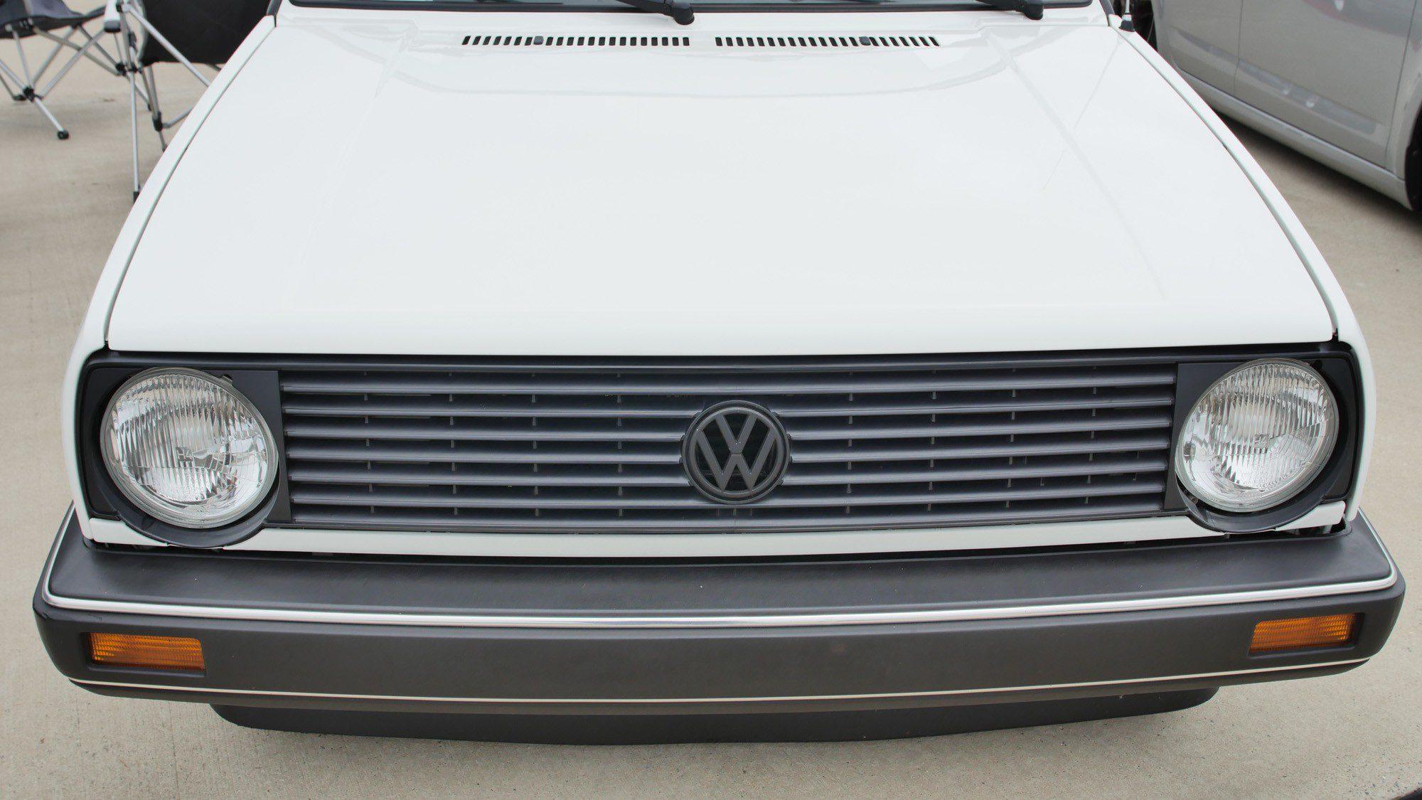 Front des VW Golf II