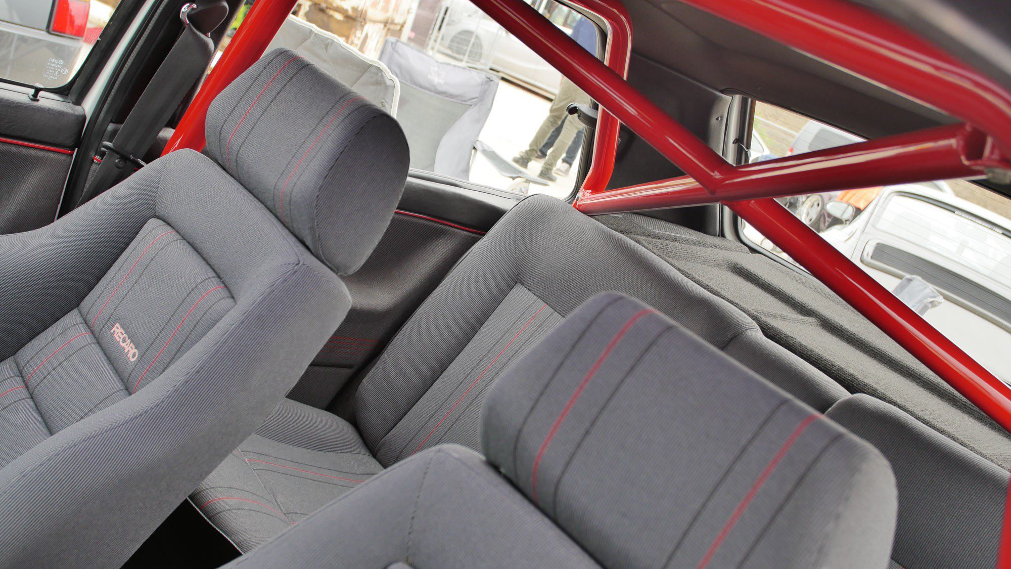 Käfig im VW Golf II