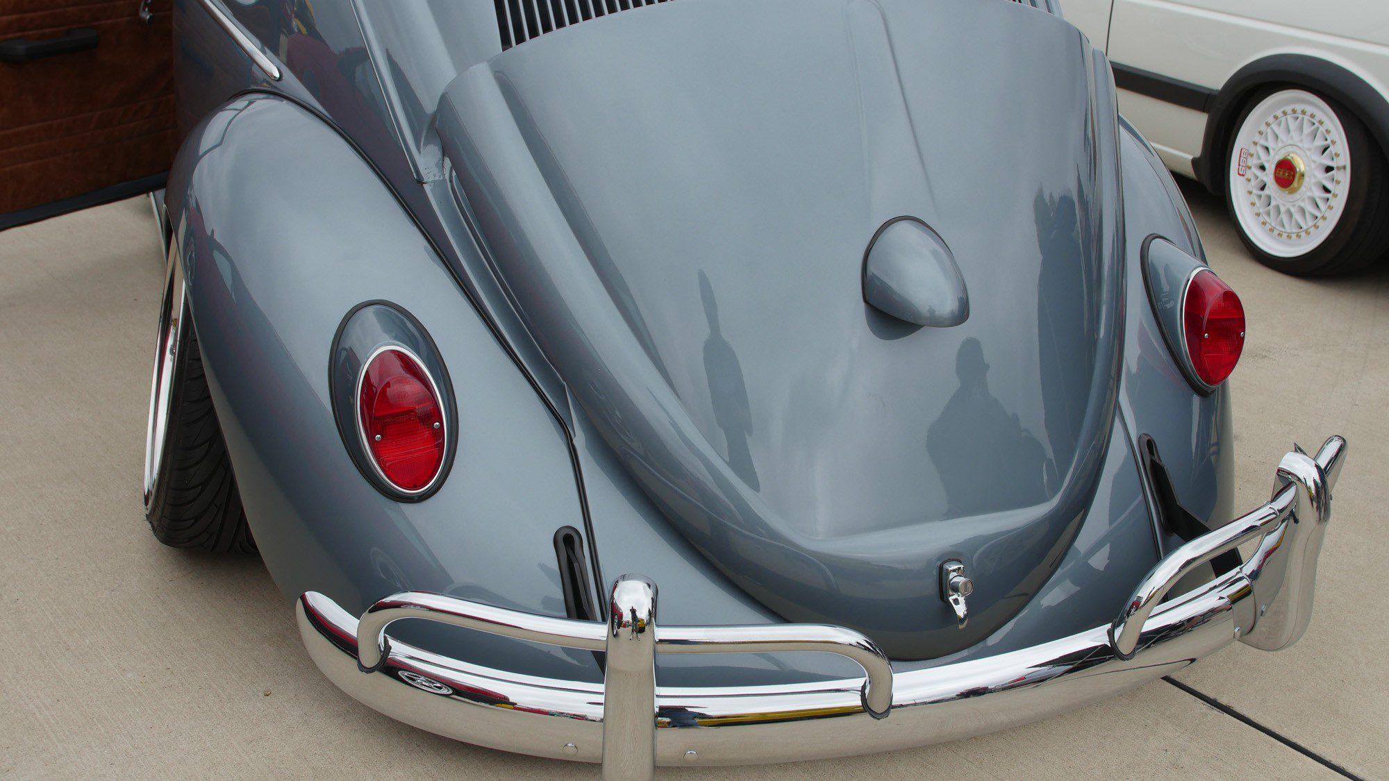Heck des VW Käfer
