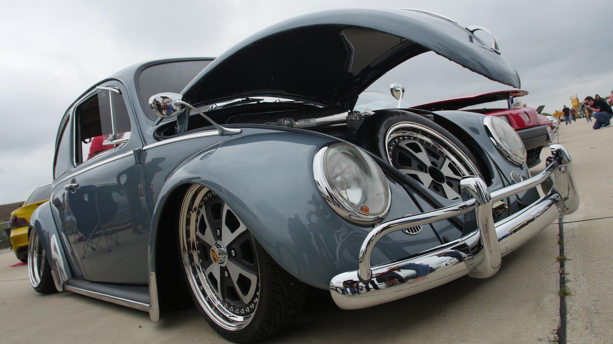 Front des VW Käfer