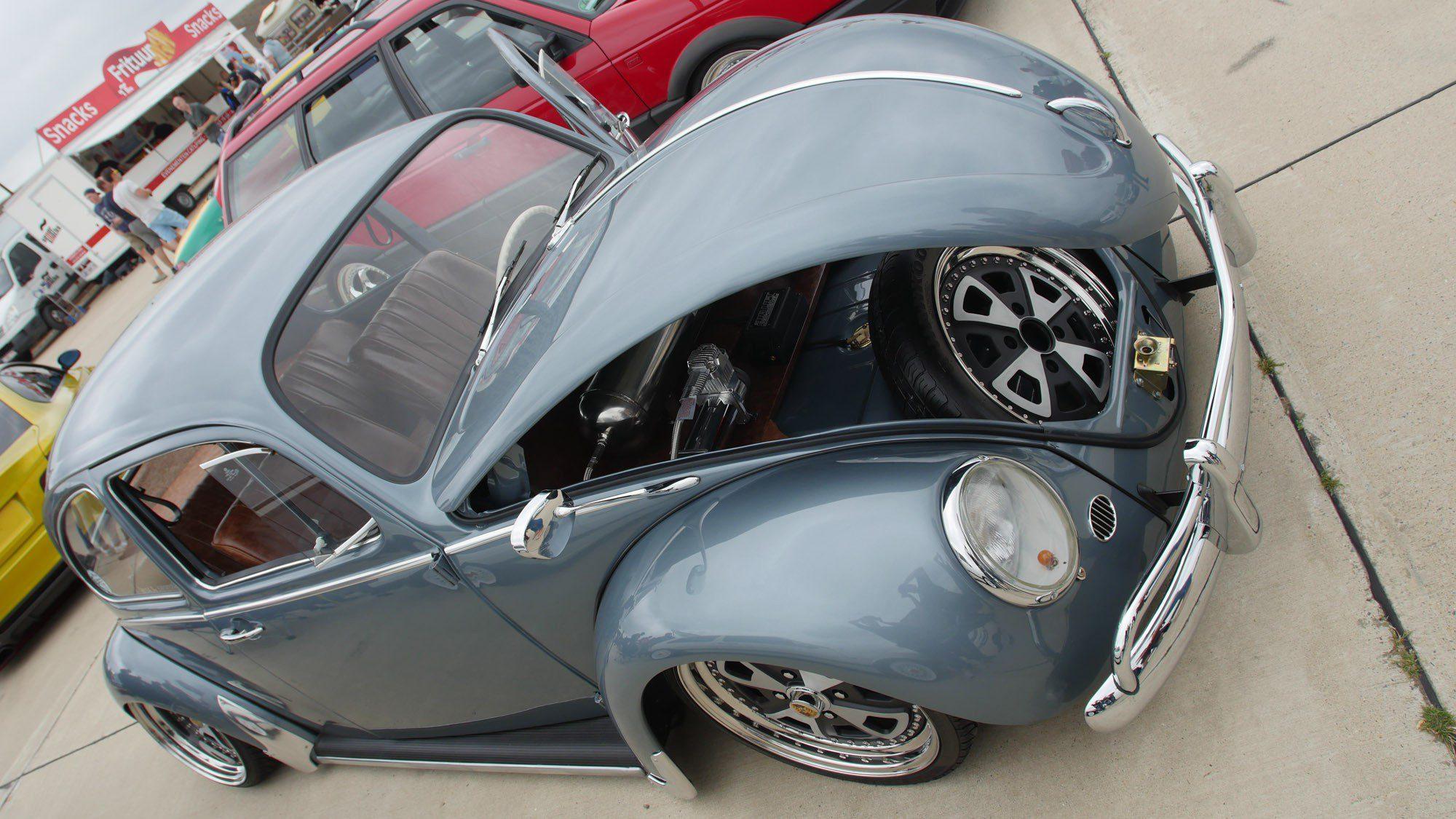 Frontansicht des VW Käfer