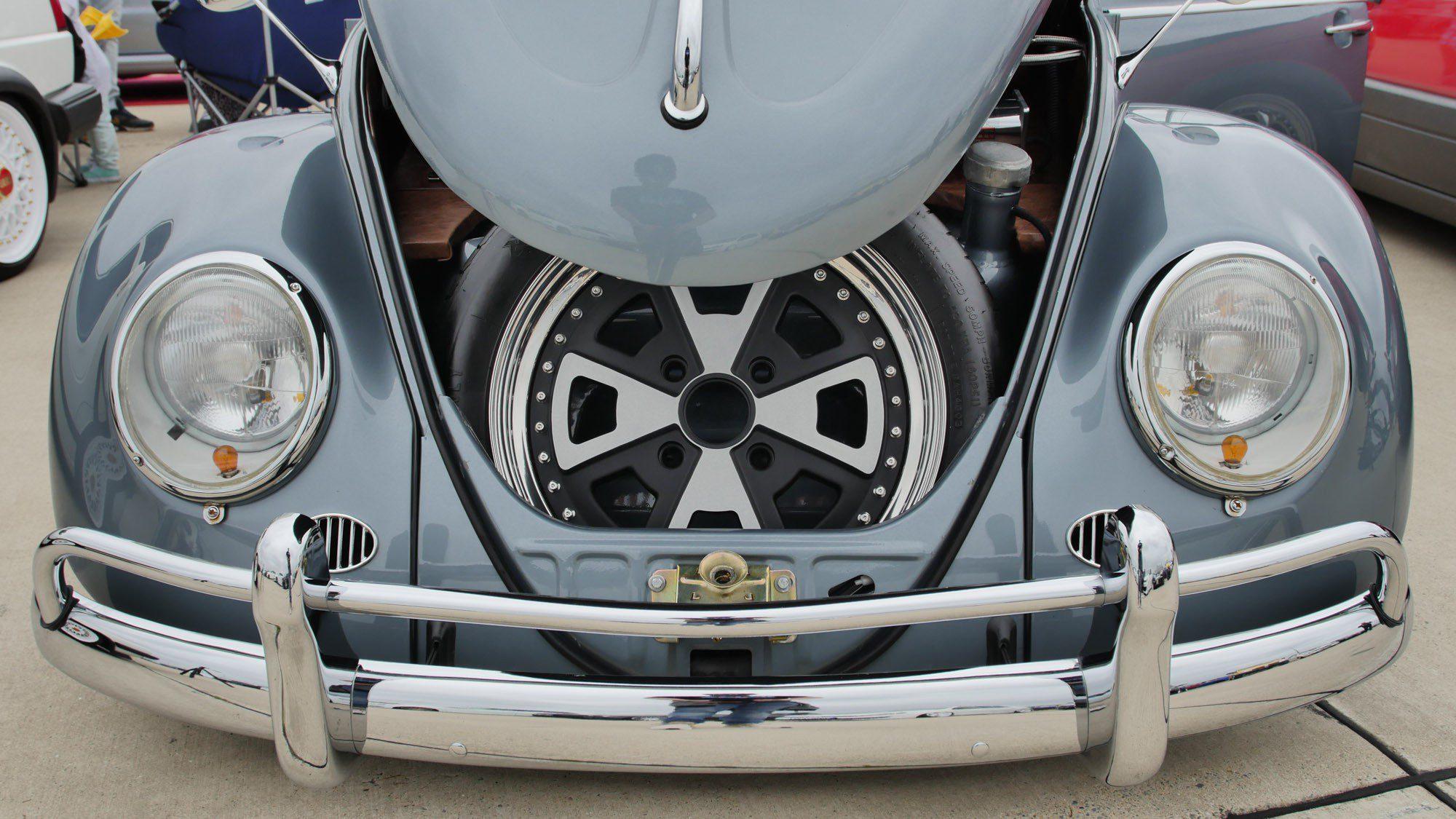 Frontpartie des VW Käfer