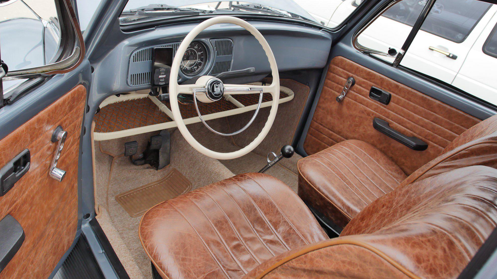 Innenraum des VW Käfer