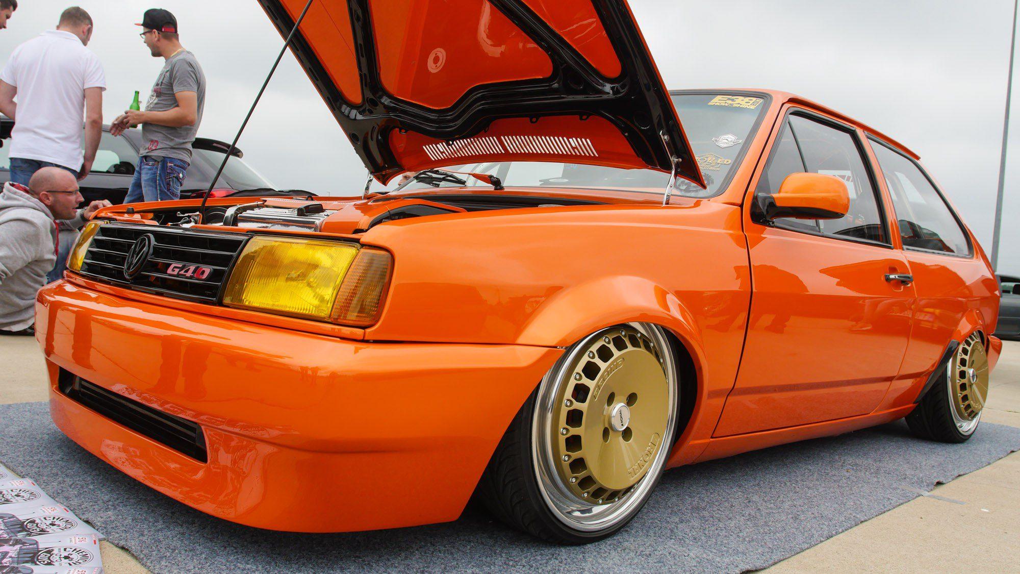 Frontansicht des VW Polo 86C
