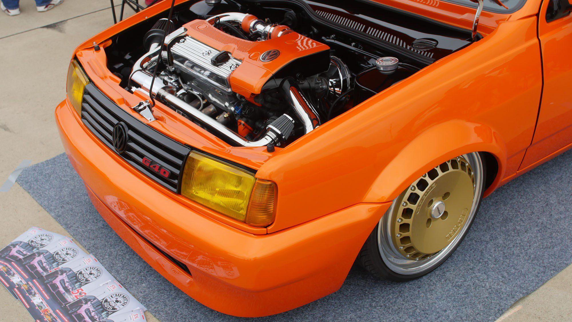 Frontpartie des VW Polo 86C