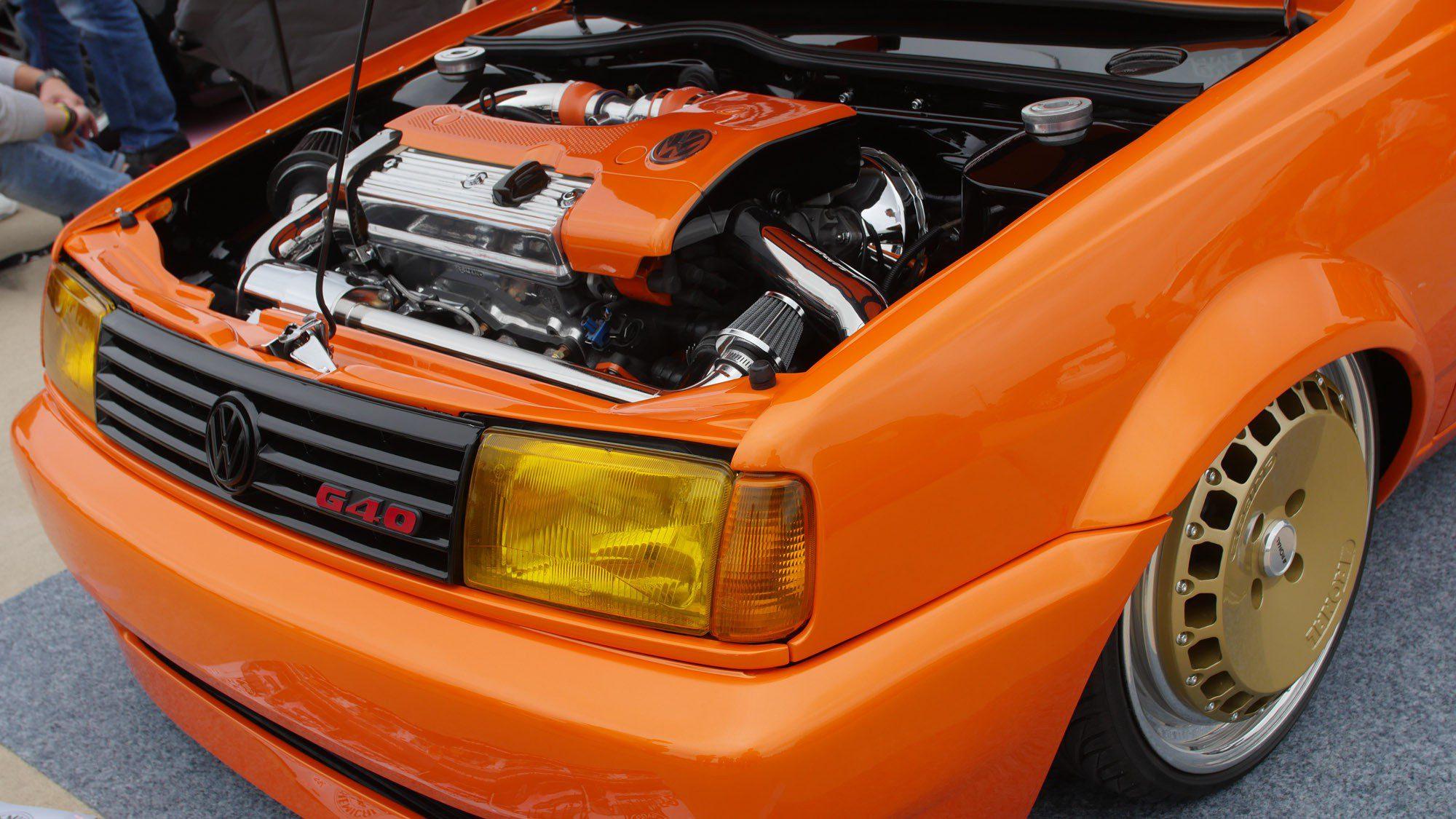 Front des VW Polo 86C