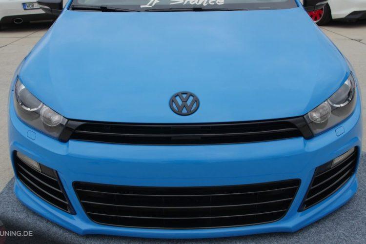 Frontansicht des VW Scirocco