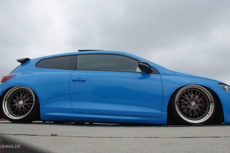 Seitenansicht des VW Scirocco