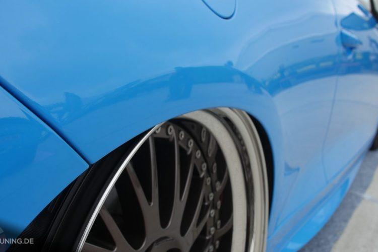 Detailansicht der Räder des VW Scirocoo