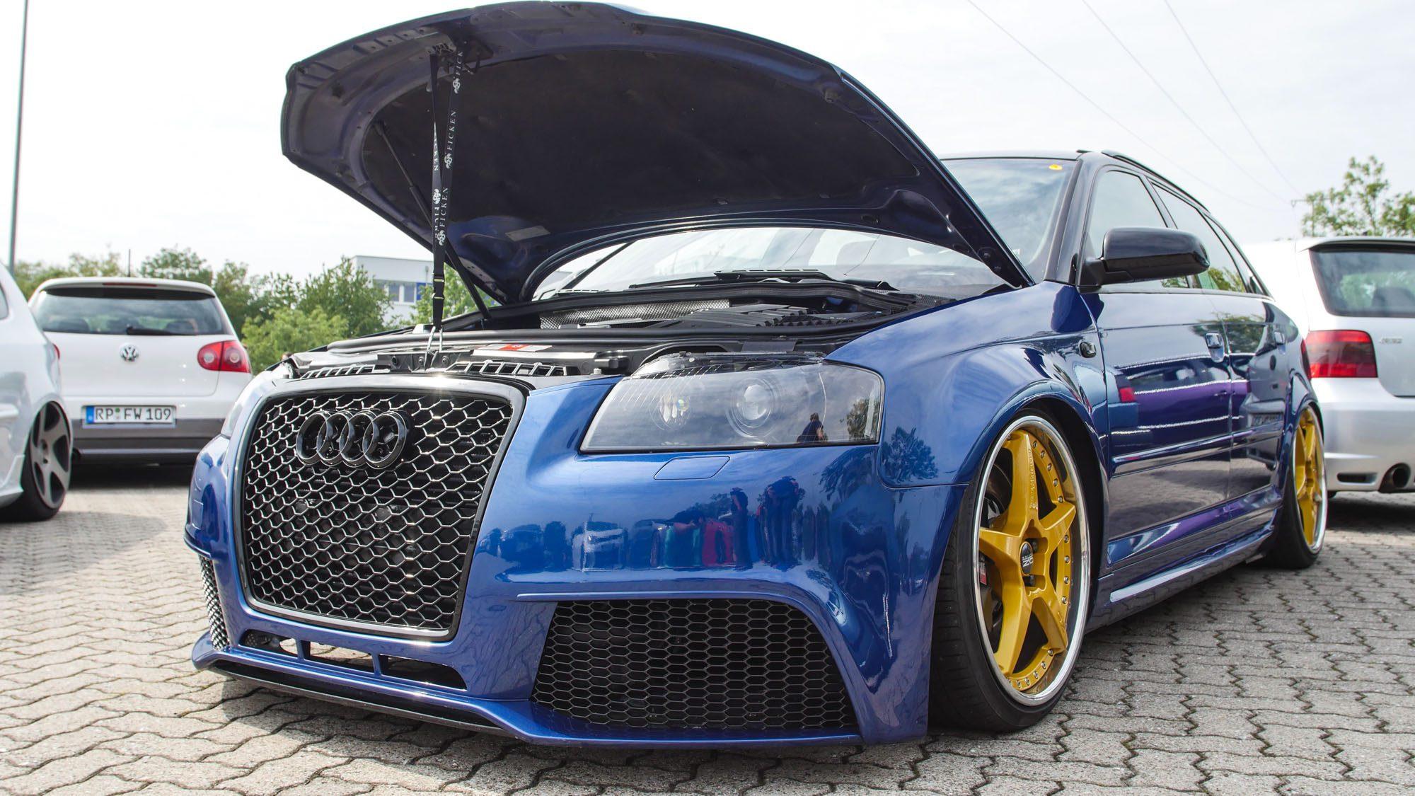 Frontansicht des Audi A3 3,2 quattro