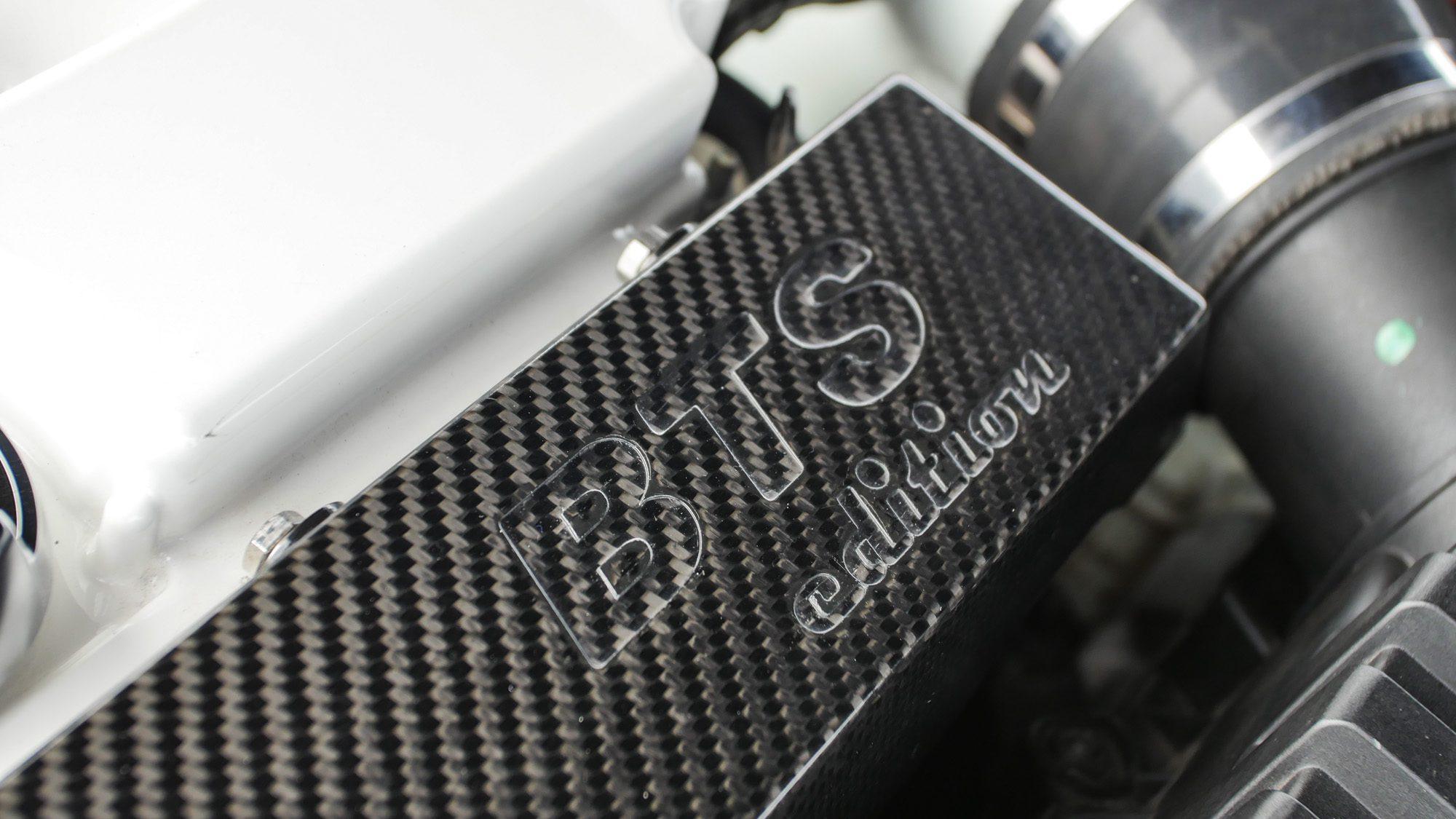 Hier steht es schwarz auf schwarz: BTS Racing hat dem Audi A3 3,2 quattro massig Power spendiert!