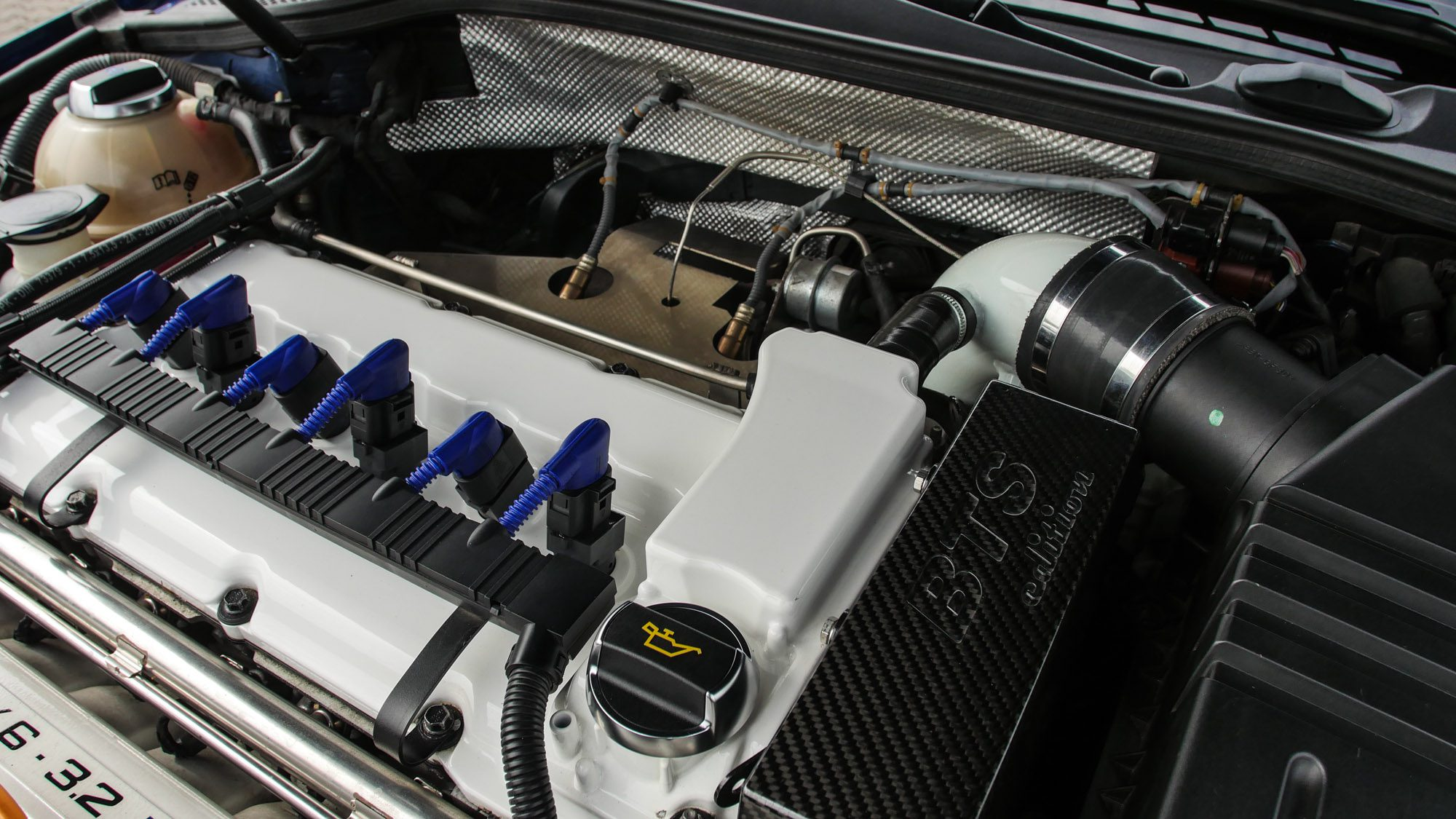 Bei diesem Audi A3 3,2 quattro war BTS Racing am Werk!