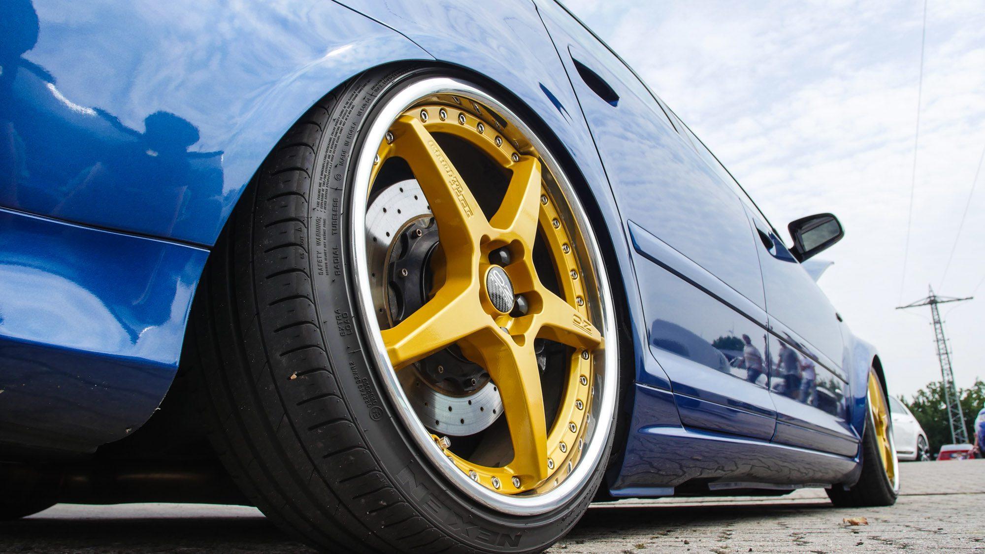 Schickes Kontrastprogramm auf dem Audi A3 3,2 quattro!