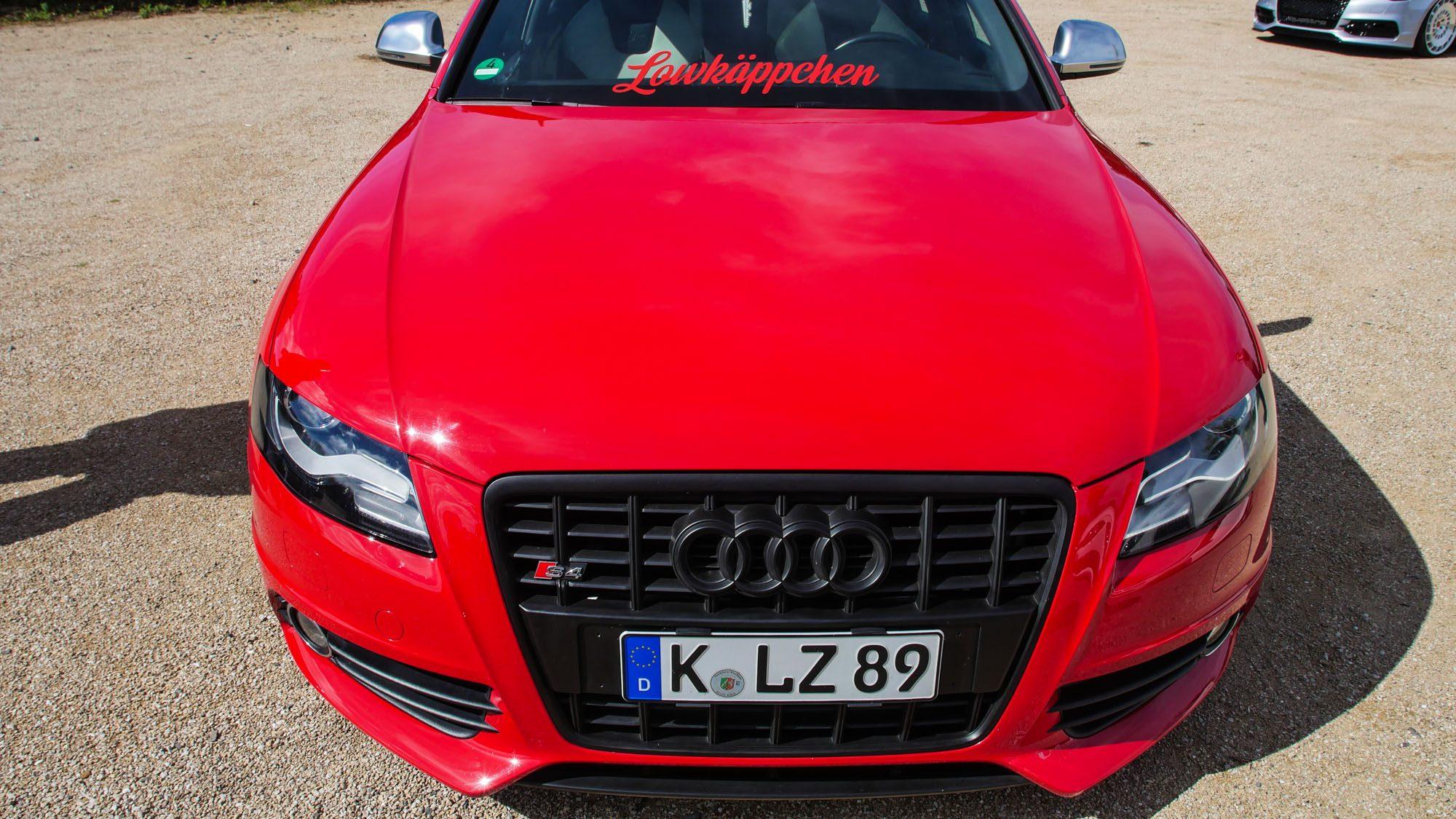Front des Audi S4 Avant