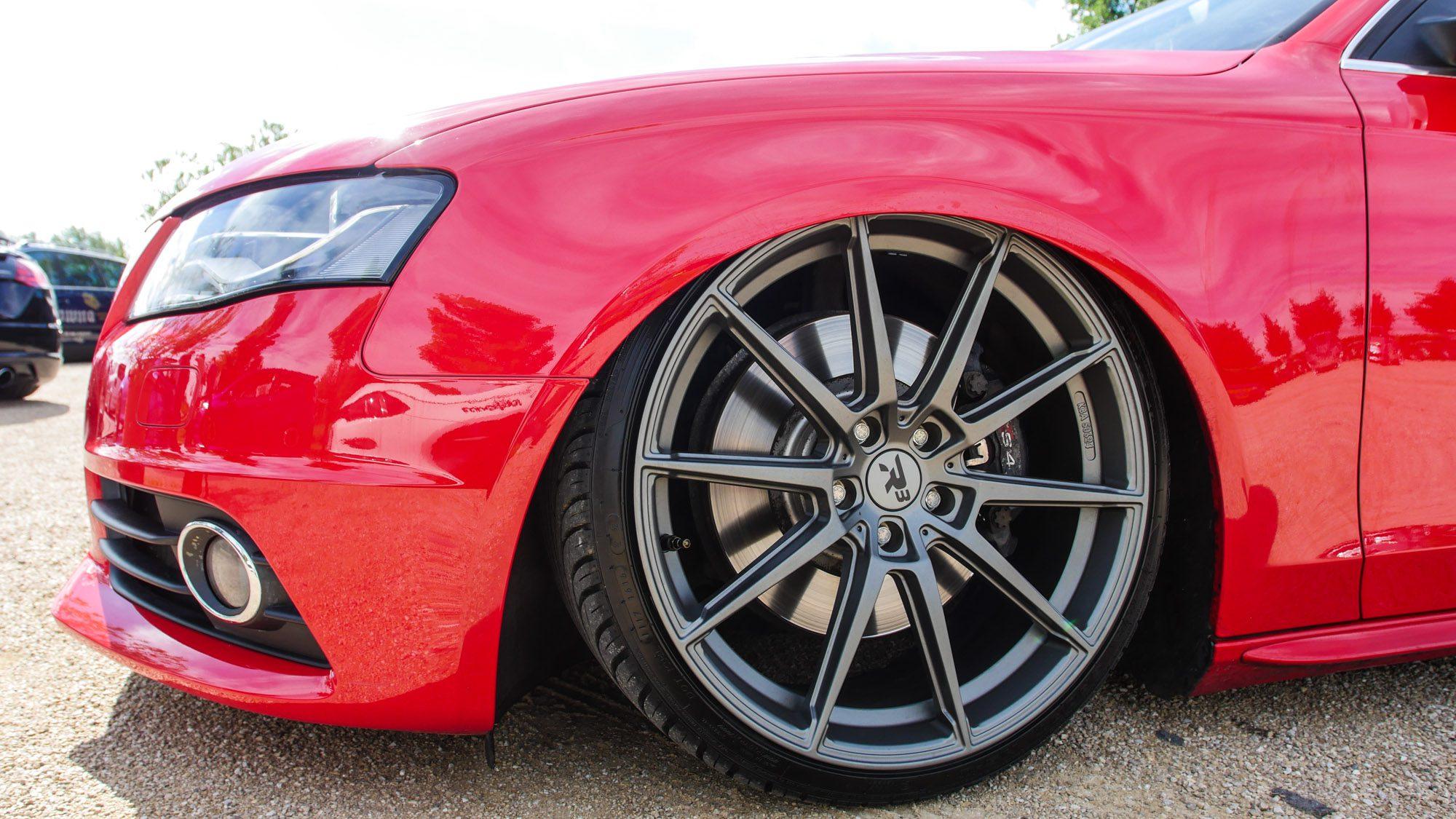 Schicke Radwahl auf dem Audi S4 Avant