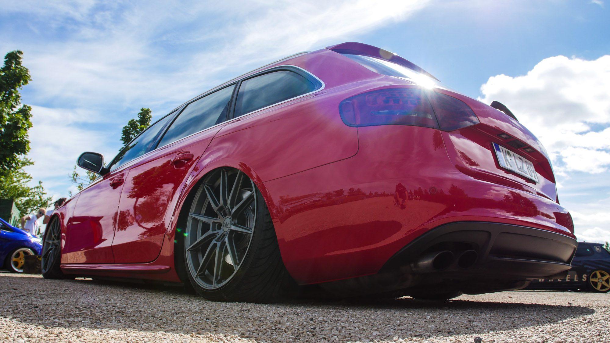 Heckpartie des Audi S4 Avant
