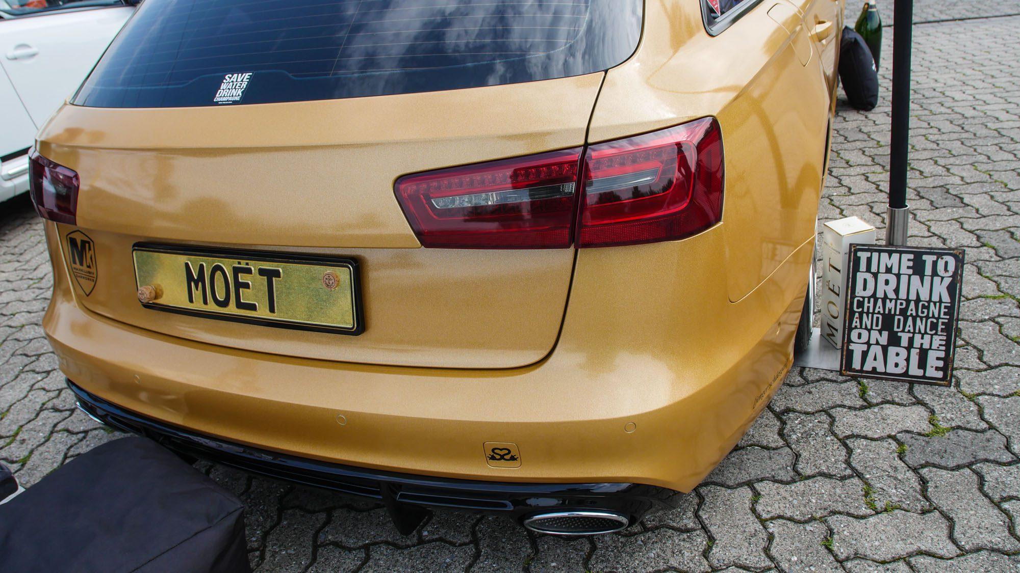 Heck des Audi A6 Avant