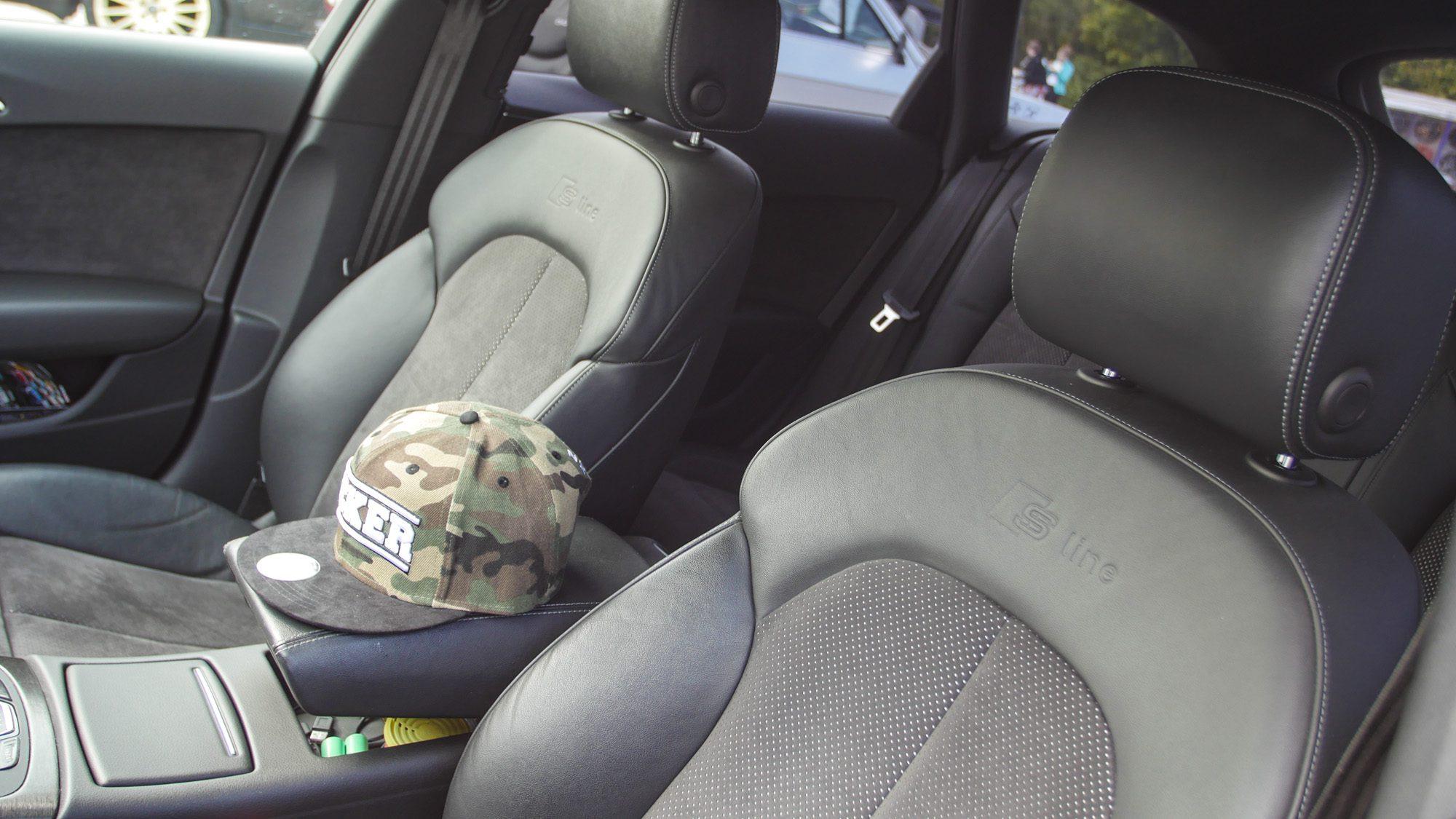 S line-Sitze im Audi A6 Avant