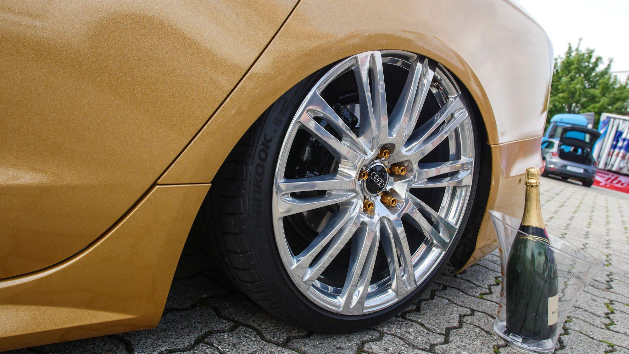 Edle Radwahl auf dem Audi A6 Avant