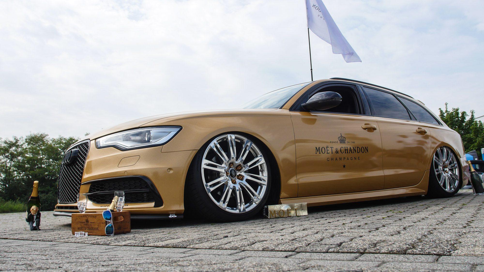 Seitenansicht des Audi A6 Avant