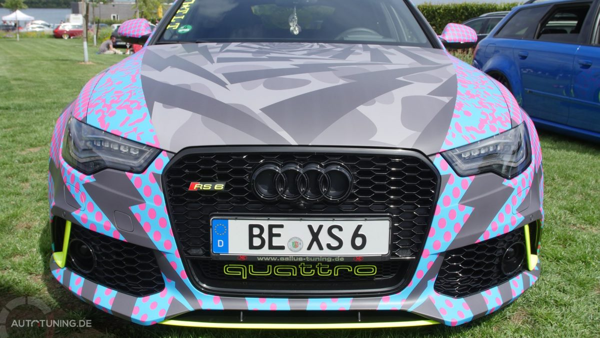 audi rs6 im ken block j p style autotuning de. Black Bedroom Furniture Sets. Home Design Ideas