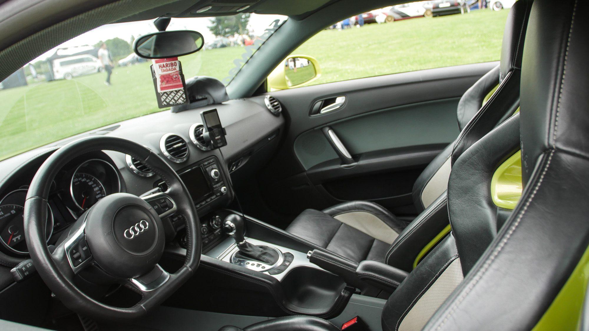 Ein Traum für Leder-Fans: Innenraum des Audi TT