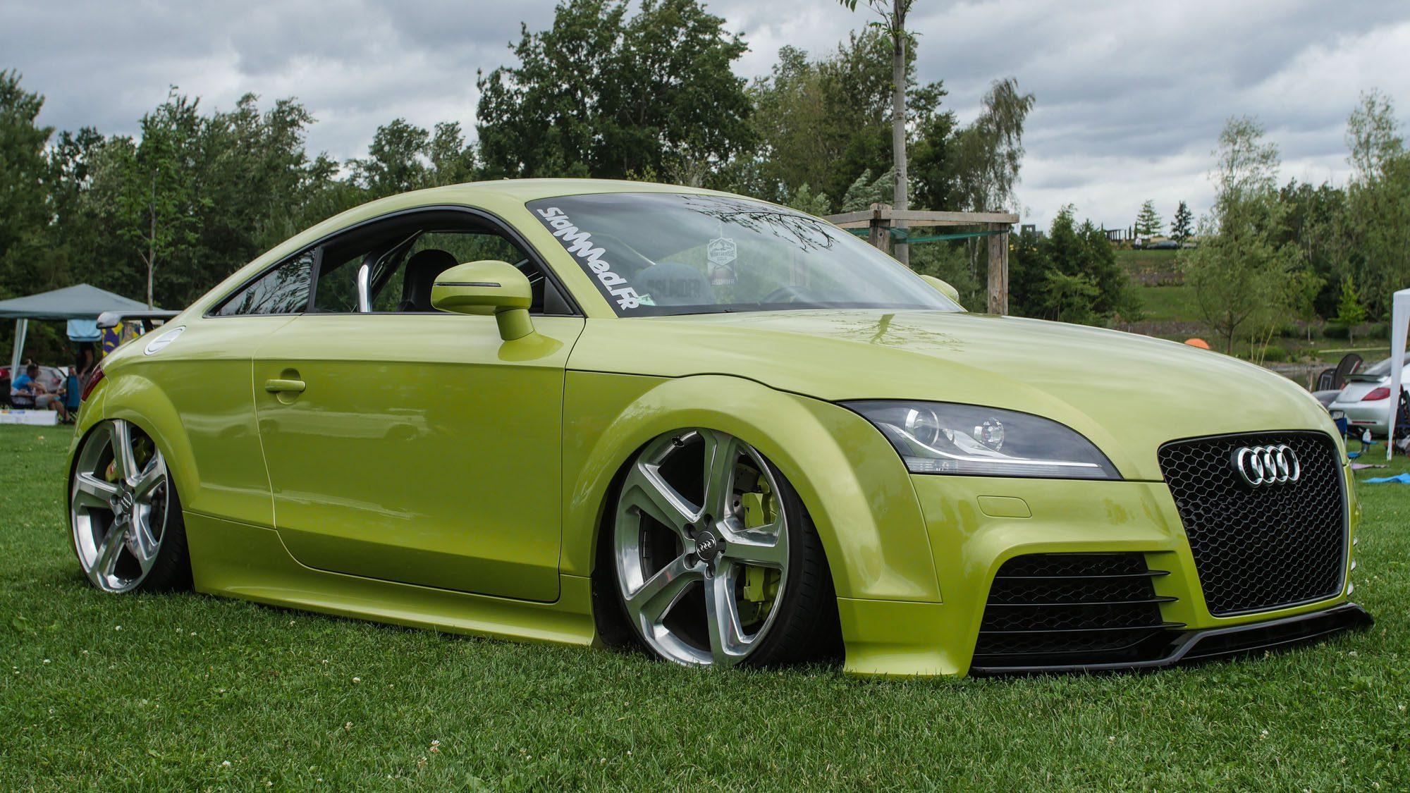 Frontparttie des Audi TT