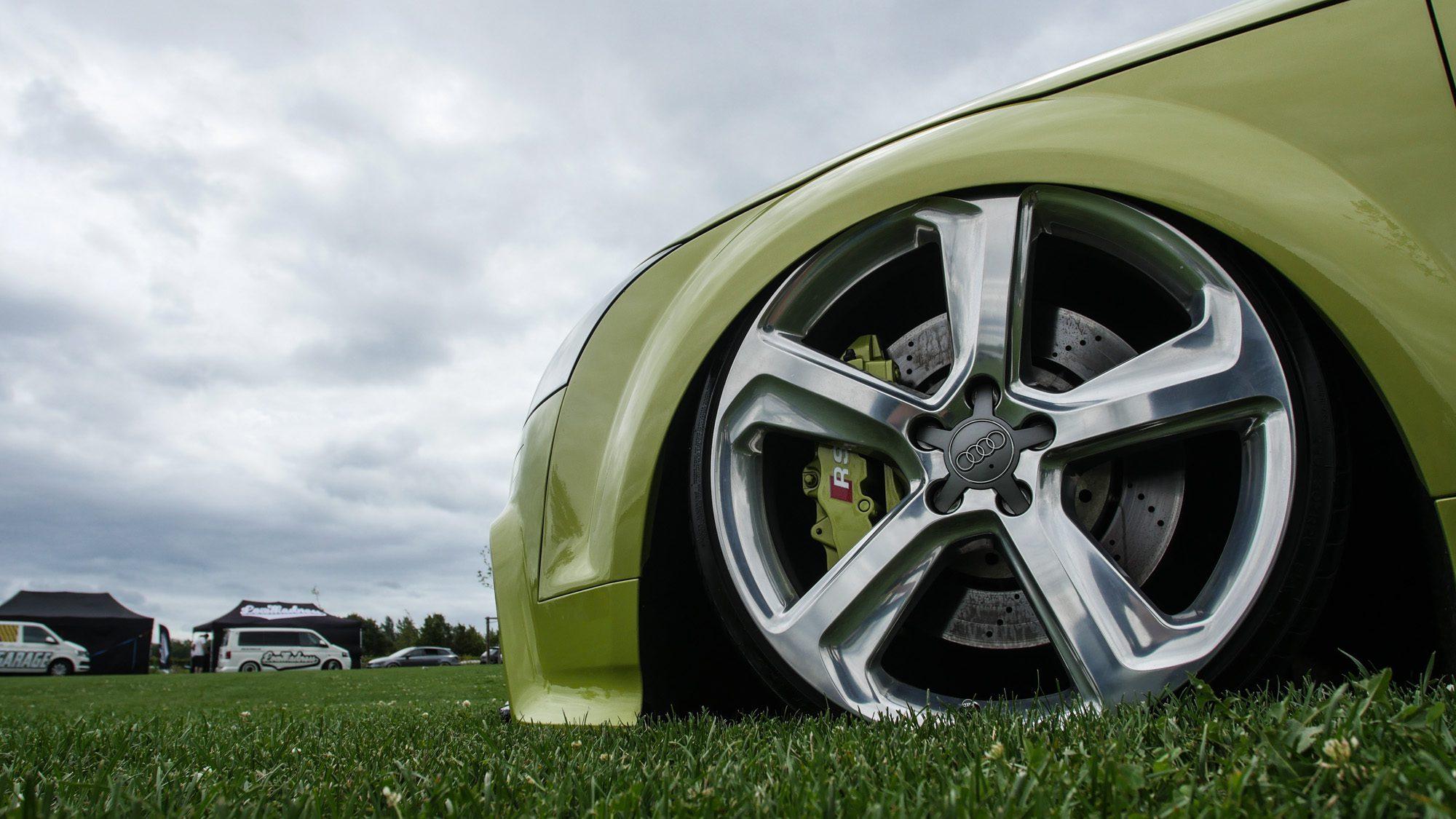 Von der Wiese magisch angezogen: Audi TT