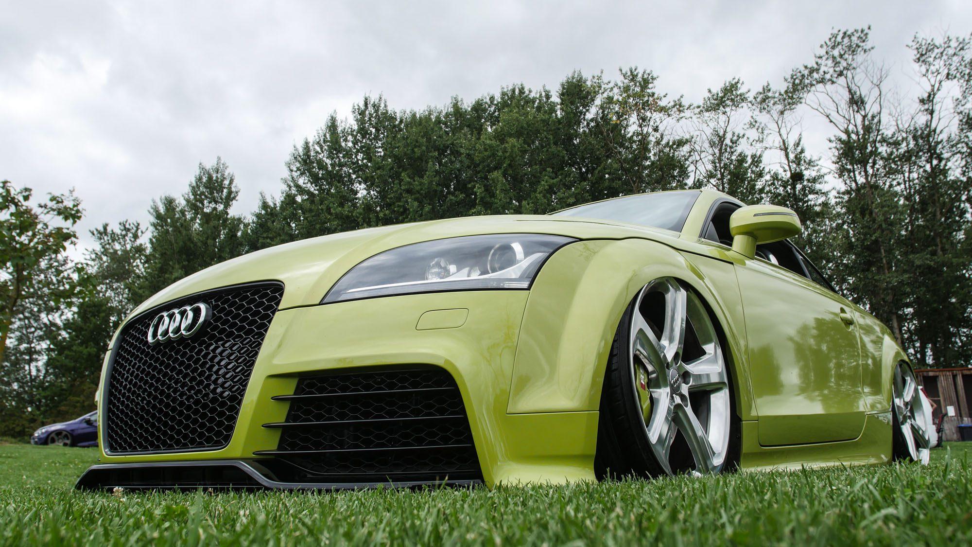 Front des Audi TT