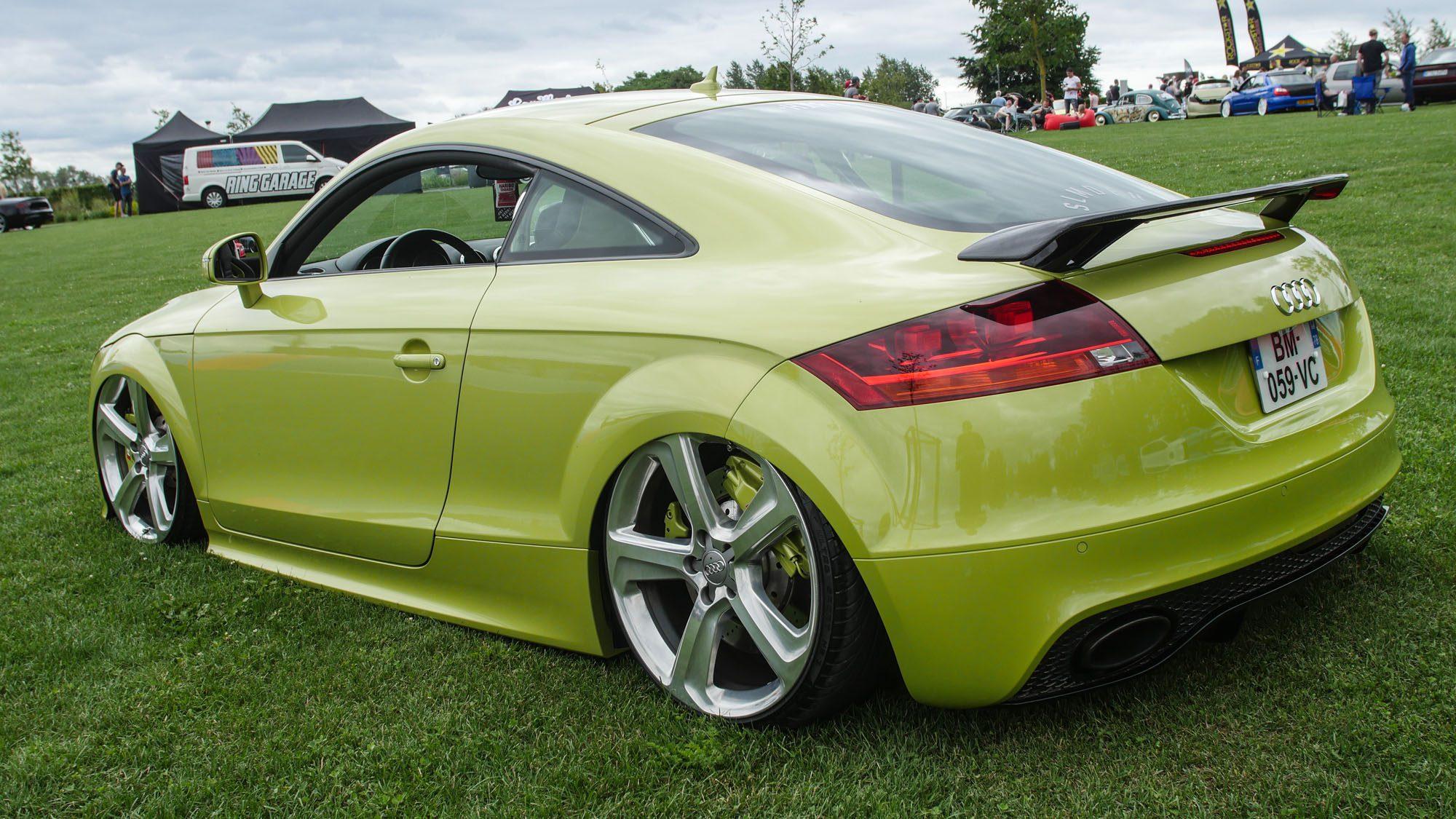 Heck des Audi TT
